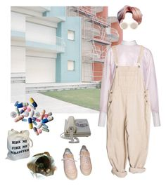 """ROCK BOTTOM"" by treasureforever ❤ liked on Polyvore featuring Louis Vuitton, Karen Walker, men's fashion and menswear"