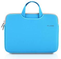 Amazon.com: PLEMO Nylon Lycra Fabric 13-13.3 Inch Laptop / Notebook Computer / MacBook / MacBook Pro / MacBook Air Case Briefcase Bag Pouch Sleeve, Red: Computers & Accessories