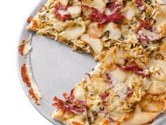 Corned-Beef-and-Cabbage Pizza Recipe : Food Network - FoodNetwork.com