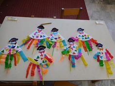 ΤΟ ΠΑΙΧΝΙΔΟΣΧΟΛΕΙΟ ΜΑΣ Mardi Gras, Diy And Crafts, Projects To Try, Rainbow, Drawings, Outdoor Decor, Holiday, Carnival Decorations, Cute Ideas