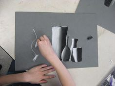 Miss Young's Art Room: 5th Grade Charcoal Still Life Drawings