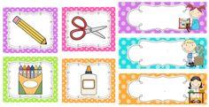 Cartellets aula Free Frames, Borders And Frames, Music Classroom, Classroom Decor, School Tool, Class Decoration, Printable Paper, Paper Decorations, Classroom Organization