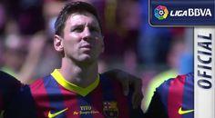 ♥Moment of silence for Tito Vilanova in Camp Nou♥♥Asuncion Peña♥