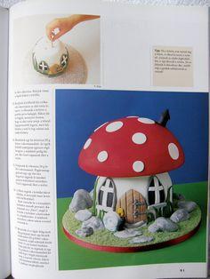 Mushrooms cake 2 Mushroom Cake, Lovely Tutorials, Stuffed Mushrooms, Keto, Picasa, Birthday Cake Toppers, Fungi, Rezepte, Toadstool Cake