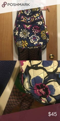 Vera Bradley Laptop Book bag! Willing to negotiate!! There is some wear & tear! Vera Bradley Bags Backpacks