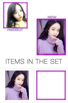"""""""Galaxy Girls   PREDEBUT&NOW"""" by galaxygirls-official ❤ liked on Polyvore featuring art"""