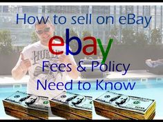 Two main things you need to know if you want to be successful on ebay.You need to know if you are new to ebay, so make sure you watch the entire video as wel...