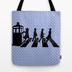 Dr Who 50th anniversary Tote Bag by Geralt de Rivia - $22.00