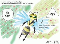 ITALY - Vignette ... UNA•API has started a cartoon strip to raise awareness about specific honey bee issues. Very cute!