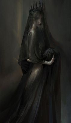 Everything mythology has recorded about Persephone is wrong. She is as shrouded . - Everything mythology has recorded about Persephone is wrong. She is as shrouded … – - Dark Fantasy Art, Fantasy Kunst, Fantasy Artwork, Fantasy Demon, Dark Artwork, Arte Horror, Horror Art, Hades Und Persephone, Creation Art