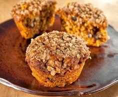 Muffin Tin Mania: Buttercup Squash Oat Muffins