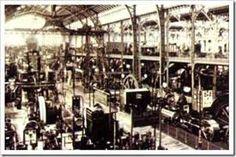 La revolución industrial es el conjunto de cambios técnicos y económicos en el siglo XIX, transformando trabajos artesanales en industriales. Debido a la máquina de vapor que se aplicó a los telares, al ferrocarril y a los barcos de vapor. Estas máquinas utilizaban el carbón como fuente de energía.