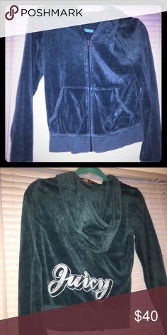 Juicy jacket Blue Juicy Couture Tops Sweatshirts & Hoodies