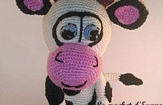 Amigurumi : Meuhline, La vache