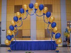 decoracion en globos para graduacion - Buscar con Google