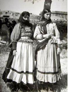 Van 1970 Köylü kızları