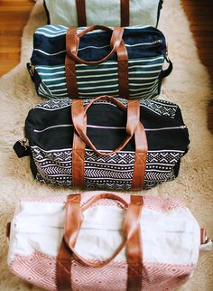+ the perfect travel bag +