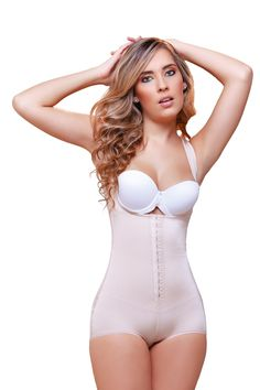 17c3b06f199 Vedette Ariana High Back Wide Strap Shapewear  Hip hugger slimming  shapewear with support rods. Bra not included. Hook-and-eye cotton gusset  and wide ...