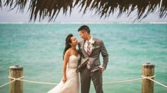Susan & William: another beautiful couple married in the Bahamas! #Wedding