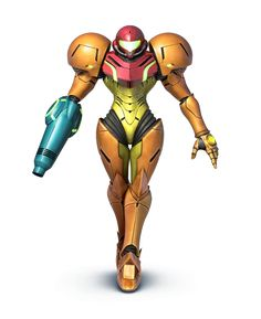 Samus as she appears in Super Smash Bros. for Nintendo 3DS / Wii U.