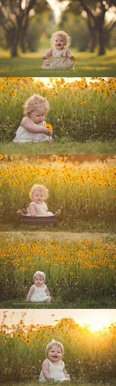 LOVE the color of these photos! Will have to try :)Des Moines, Iowa photographer, Darcy Milder, 7 month old baby pictures Toddler Photos, Baby Girl Photos, Newborn Baby Photography, Children Photography, Photography Ideas, Color Photography, White Photography, 6 Month Pictures, Summer Pictures