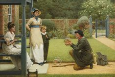 George Dunlop Leslie, R.A. 1835-1921 BRITISH THE GOLDFISH SELLER