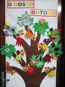 O outono chegou à nossa sala de cheio de novas sensações, cores, cheiros, paladares e sons. As folhas de plátano chegaram numa caixa como q...