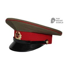 1f33bbdd007 Soviet military Infantry troops privates and sergeants and petty officers  russian visor cap USSR hat. Etsy