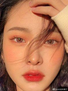 Makeup Korean Style, Korean Natural Makeup, Korean Eye Makeup, Korea Makeup, Natural Makeup Looks, Simple Makeup, Korean Makeup Ulzzang, Korean Eyeliner, Natural Beauty