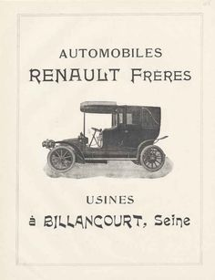 Old Renault Ad