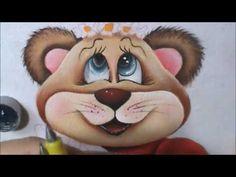 Ursinha Mel - pintura em tecido - aula 5 - YouTube