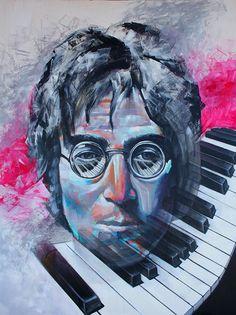 John Lennon | PichiAvo – Art, design, graffiti