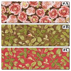 "Quilting Treasures ""Rose Hill"" Roses Leaves Fabric Collection (Select) by LOVINGTOUCHFABRICS2 on Etsy"