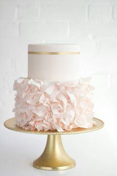Pretty little wedding cake~♡~