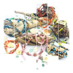 La collection Bohème est composée de pierres semi-précieuses, de Crystal Autrichien Creations, Collection, Food, Art Crafts, Stones, Eten, Meals, Diet