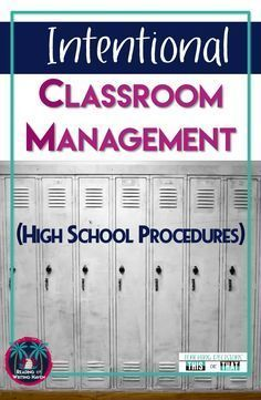 Read about 5 common classroom management issues in high school and practical solutions for handling them.