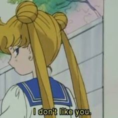 Sailor moon will not take any of your sass. Sailor Moon Usagi, Sailor Moon Art, Sailor Mars, Sailor Moon Aesthetic, Aesthetic Anime, Aesthetic Yellow, Sailor Moon Quotes, Manga, Cartoon Quotes