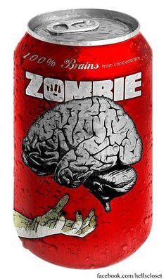 Zombie Brains Juice.