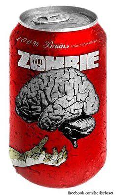 Zombie Brains Juice.