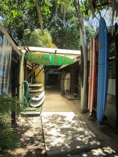 Surf Shop in Tamarindo, Costa Rica | SuitcaseandHeels.com