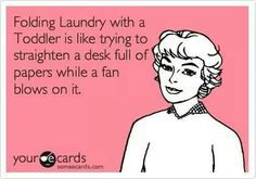 The joy of laundry