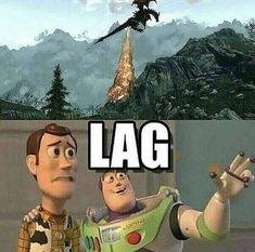 Lag isn't always bad nerd memes, gamer meme, funny gaming memes, nerd Nerd Memes, Gamer Humor, Funny Gaming Memes, Nerd Humor, Stupid Funny Memes, Haha Funny, Hilarious, Nerd Funny, Funny Quotes