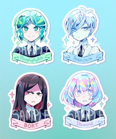 Houseki no kuni All Anime, Manga Anime, Dibujos Anime Chibi, Steven Universe Gem, Pastel Art, Art Reference Poses, Anime Art Girl, Cartoon Art, Kawaii Anime