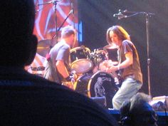 Stone Gossard & Jeff Ament From the 2nd Row, St. Louis 2010