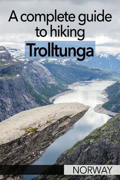 The hike to Trolltunga is one of the best hikes in Norway. It's a relatively difficult walk but you shouldn't have any problems if you go prepared. So here is my Trolltunga hiking guide to help you prepare for this epic adventure! Europe Destinations, Europe Travel Guide, Travelling Tips, Travel Info, Travel Guides, Hiking Norway, Norway Travel, Jotunheimen National Park, Hiking Guide