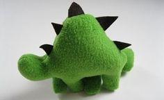 Cómo hacer un dinosaurio de peluche :)
