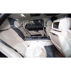 Inside the new Jaguar.   2012 Beijing Motor Show