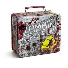 ThinkGeek :: Zombie Survival Kit Lunch Box