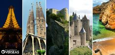 More than ever, Europe is an affordable option for living or retiring overseas. Here are the top 5 markets (on the attached link. Top Place, Places In Europe, Barcelona Cathedral, Retirement, Spain, France, Building, Studying, Travel