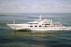 ECSTASEA superyacht - one of the largest, fastest and most distinctive yachts ever built - exterior by De Voogt and Terence Disdale